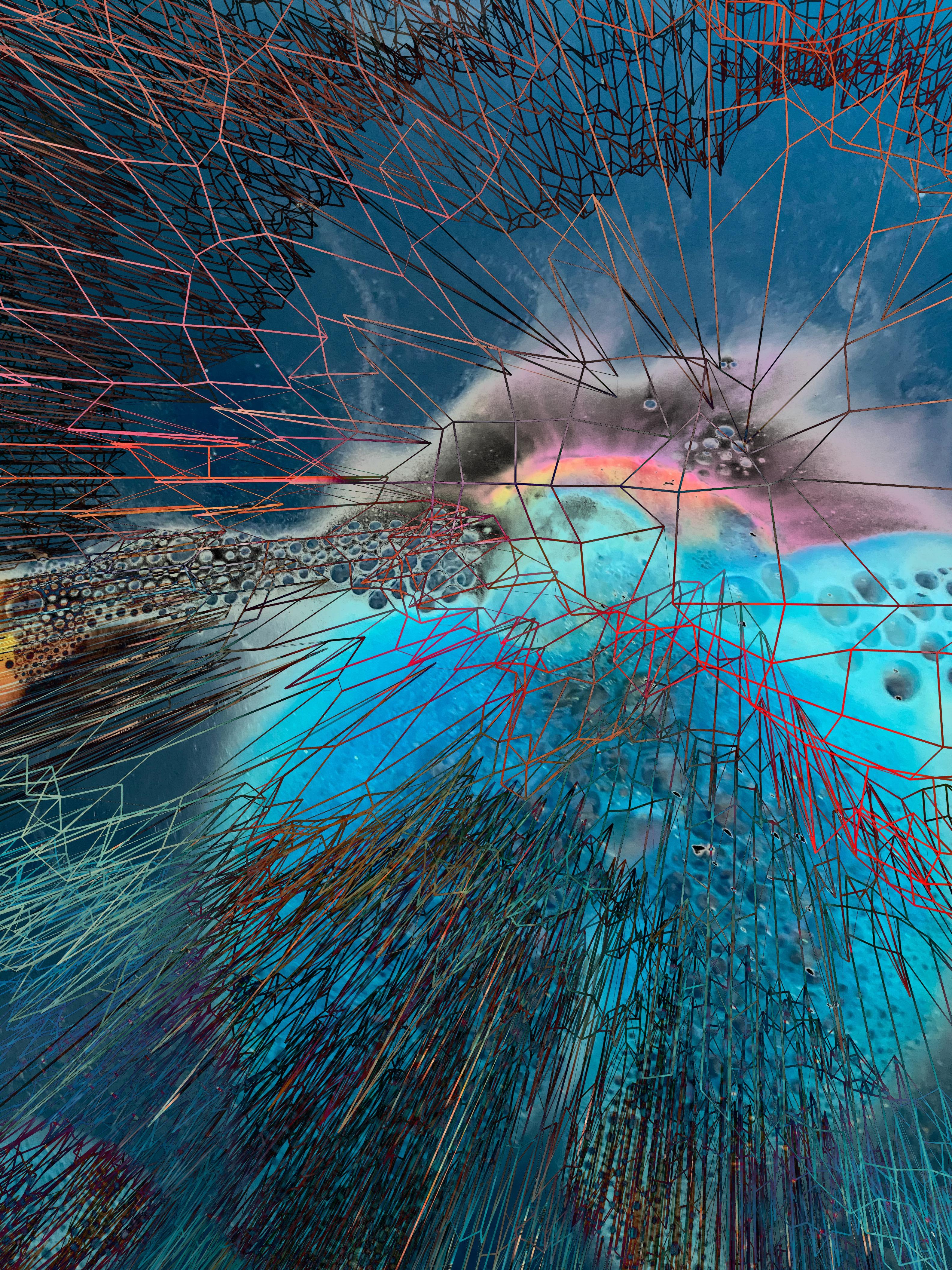 blue webs