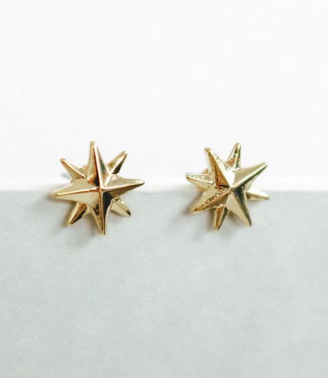 Ohrringe Shining Star Gold