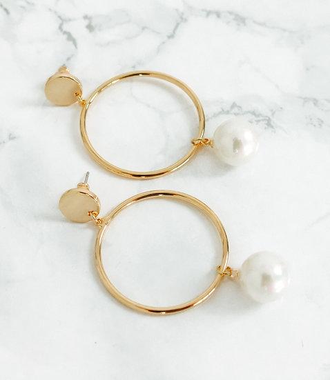 Ohrringe Posh Pearl