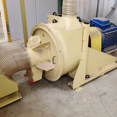 hammer mill and stone trap