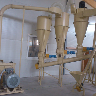 hammer mill and cyclo