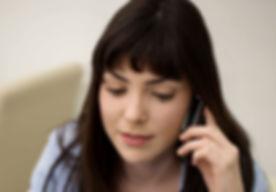 Женщина по телефону