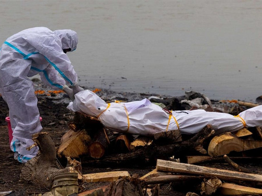 Covid - Tragedia sul Gange