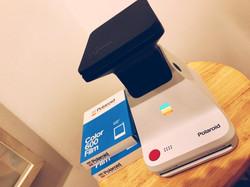 Polaroid Lab on display at StratoBOX Studios