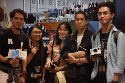 Participants in R.O.X, BGC for Born in Film and Polaroid's film photography workshop