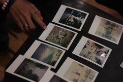 Polaroids at Born in Film and Polaroid's film photography workshop