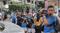 Behind the scenes at a Born in Film Photowalk event