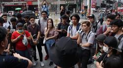 Participants at a Born in Film Photowalk event