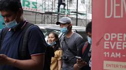 Participants walking the streets of Binondo, Manila