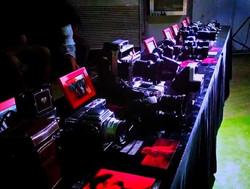 Cameras at Born in Film Exhibit
