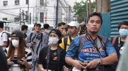 Participants walking the roads of Binondo during a Born in Film Photowalk event