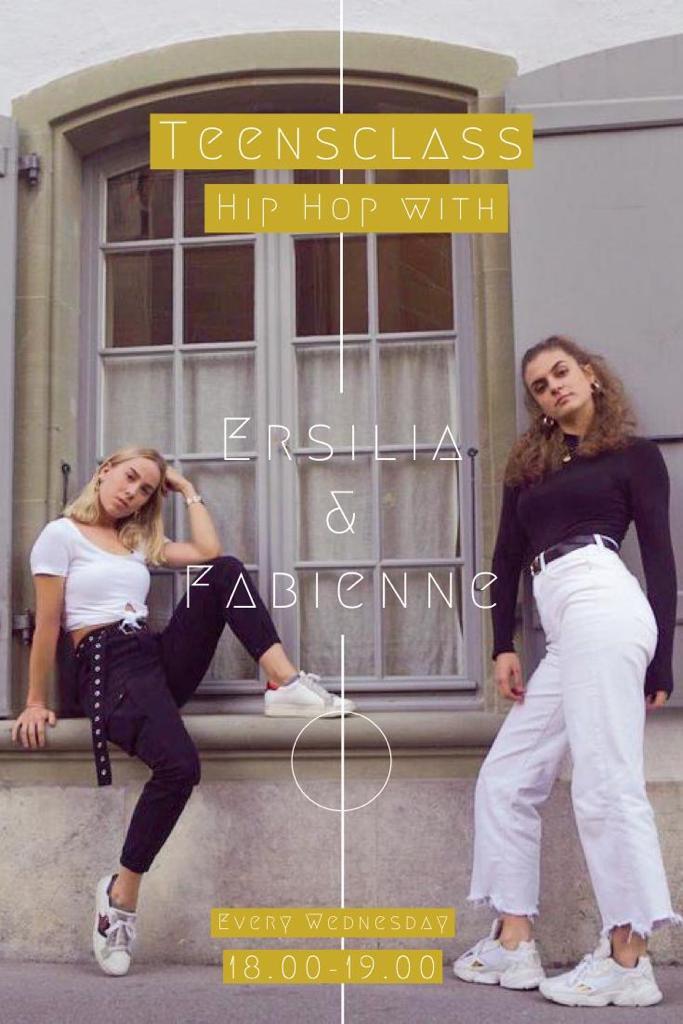 Fabi&Ersilia// MI, Hip Hop Teens