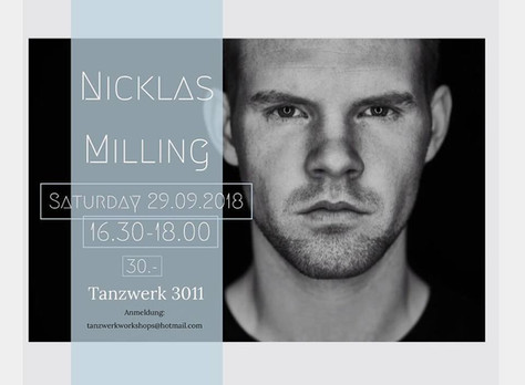 Workshop with the one and only Nicklas Milling!