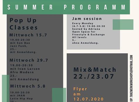 Wir haben Sommerferien bis zum 9. August