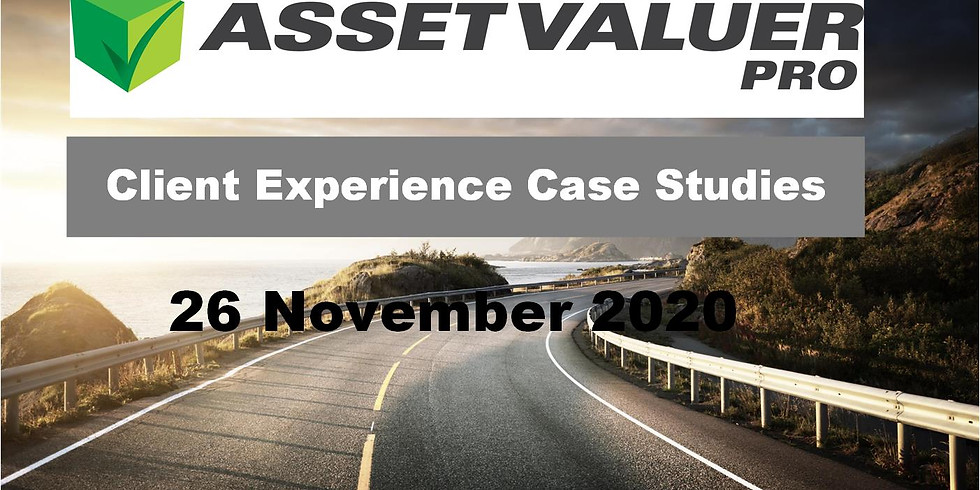 Client Experience Case Studies: Doing their own valuations using Asset Valuer Pro