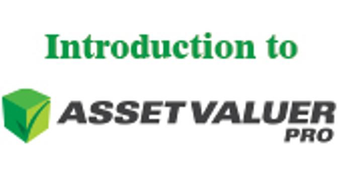 Webinar - Introduction to Asset Valuer Pro