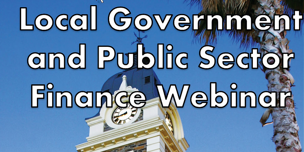 Local Government and Public Sector Finance Webinar