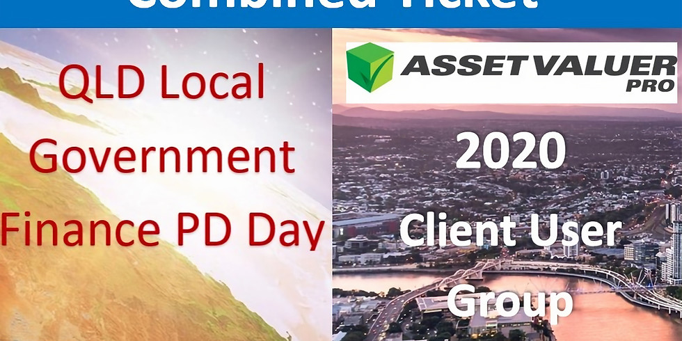 Combined Ticket: QLD LG Govt PD Day and Asset Valuer Pro Client User Group Conference