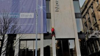 Banner Install Northern Bank Belfast