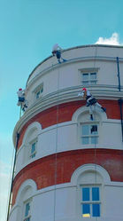 Abseil Painting Solicitors Belfast
