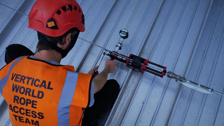 Safety testing Fall Arrest system