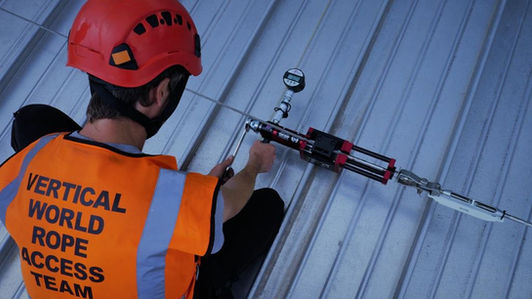Safety testing Fall Arrest system