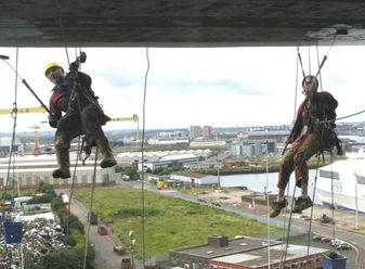 Painting Hendersons Cranes Belfast