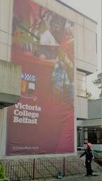 Banner Install Victoria College Belfast