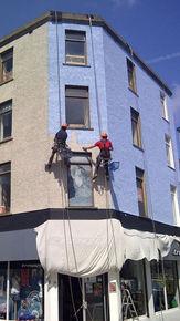 Painting Troggs Building Portrush