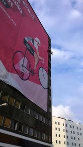Banner Install Giro Belfast