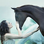 Dziewczyna i koń
