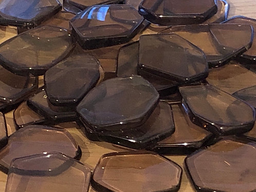 Smokey Quartz Slices