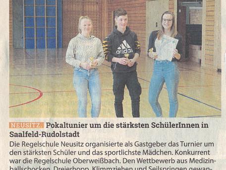 Stärkster Schüler in Neusitz gesucht