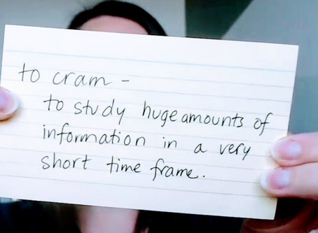 Cram course for the SAT?