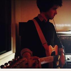 Chris at the Studio