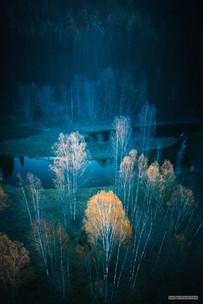 - horní tok Vltavy před Lipnem -