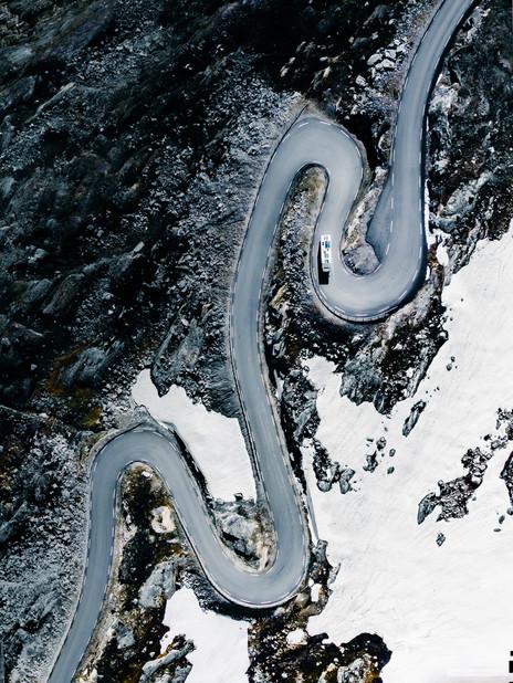 - horstvo Djupevatn, Norsko -