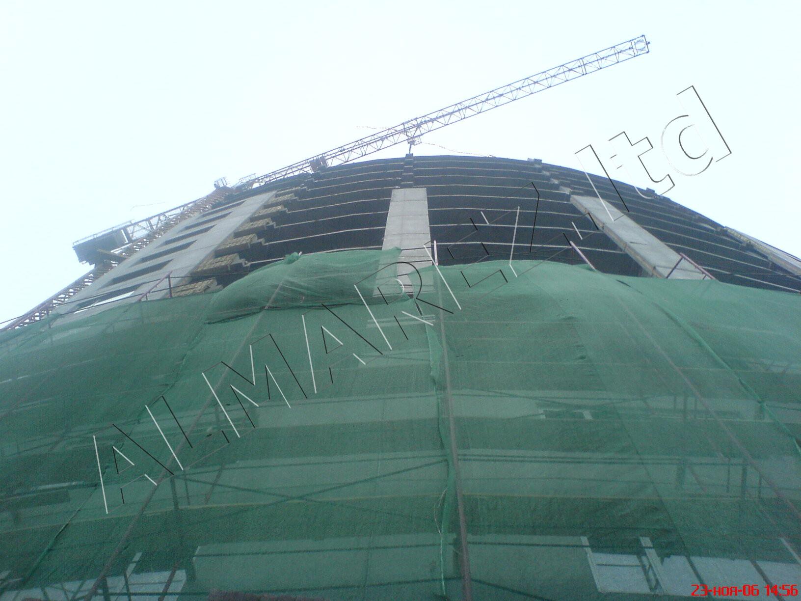 Фасад шлифовка бетона