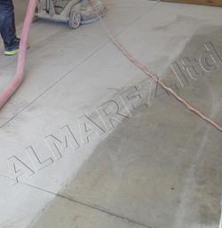 Шлифование старых бетонных полов