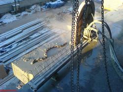 Алмазная резка бетонных перекрытий