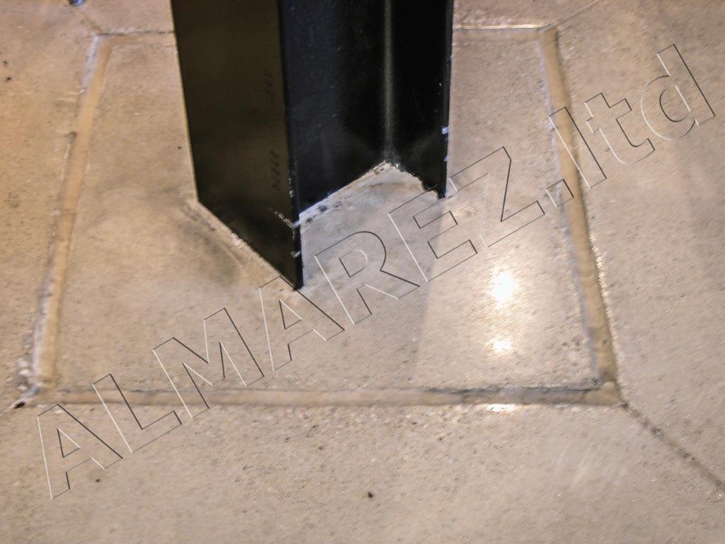 Шлифование бетона после залития