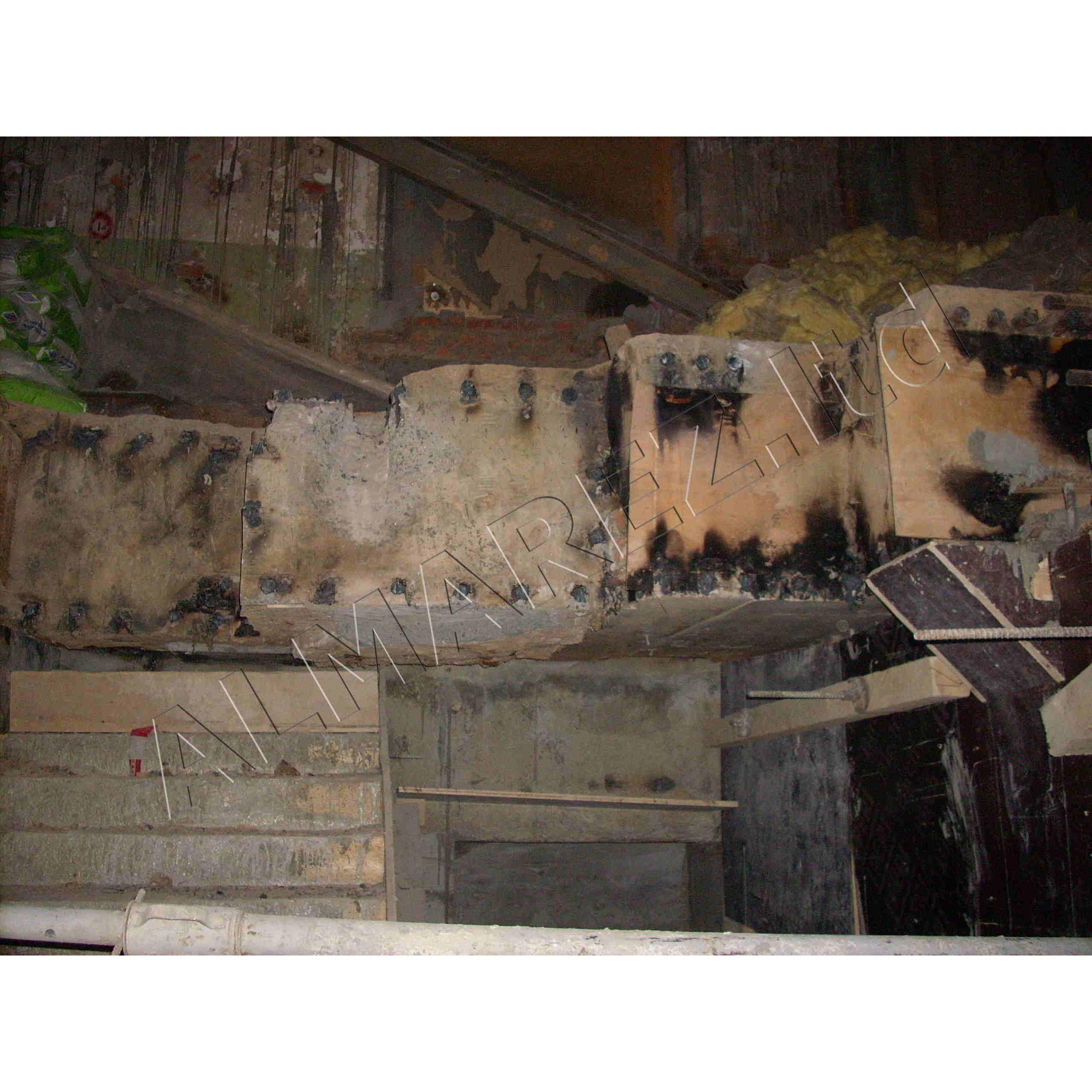 Демонтированный фрагмент
