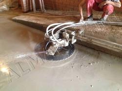 Резка бетона вплотную