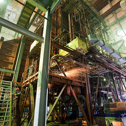Демонтаж фундамента турбины