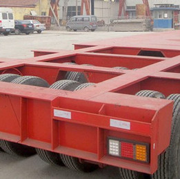 Low bed 150t trailer