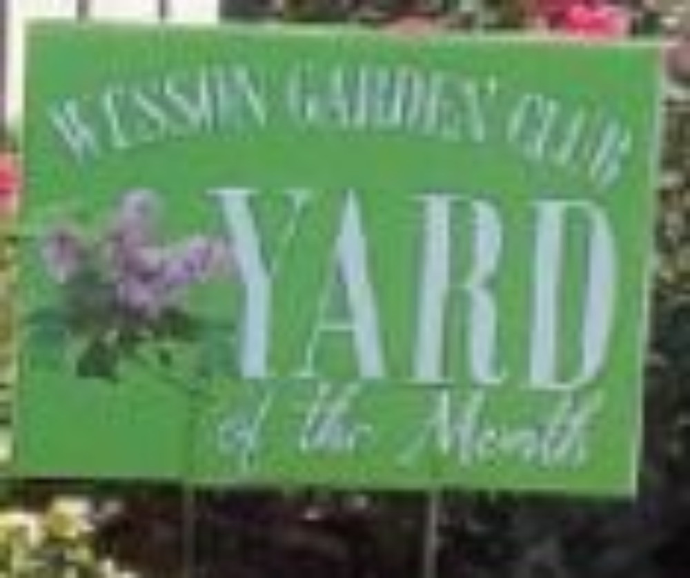 Yards of the Month