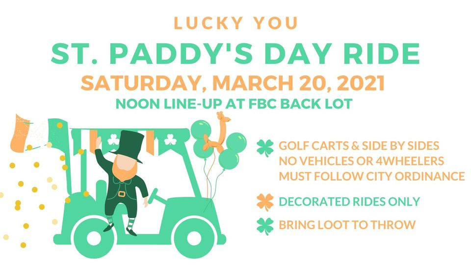 St. Paddy's Day Ride