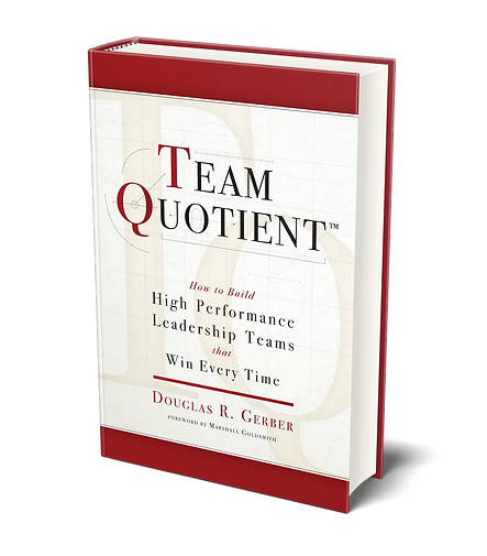 Team Quotient book cover Douglas Gerber