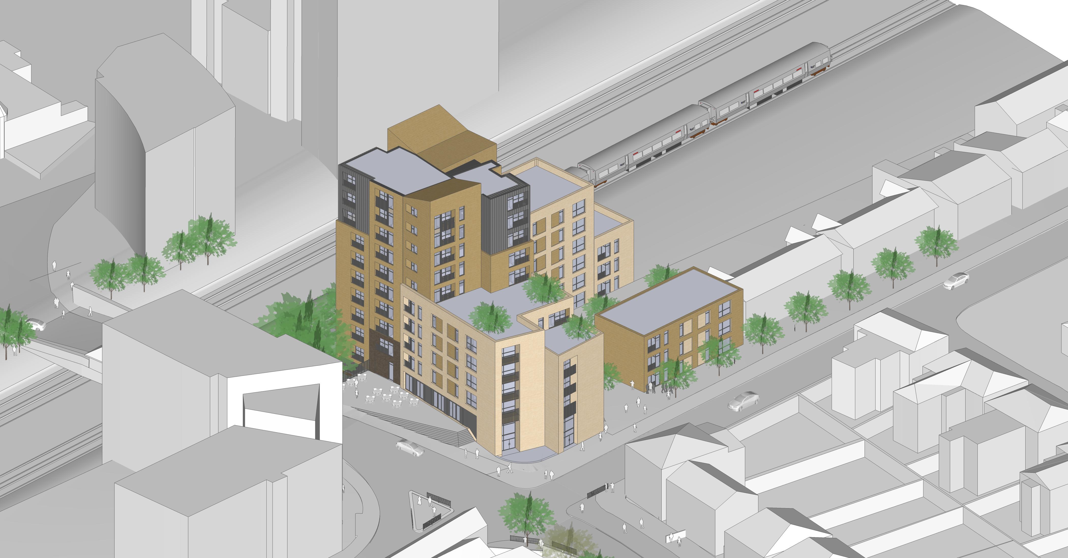 3D visualization of new scheme