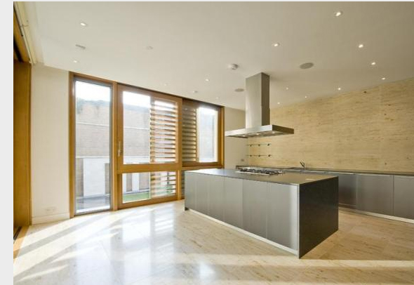 View of completed kitchen